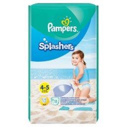 Splashers, R4-5, 11jednorazowych pieluch do pływania