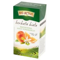 Herbata biała brzoskwinia kwiat pomarańczy 30 g