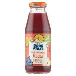100% Sok jabłko winogrona i jagody po 4 miesiącu