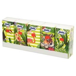 Chusteczki higieniczne 3 warstwowe 10 x 10 sztuk