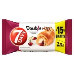 Doub!e Max Croissant z nadzieniem o smaku waniliowym i wiśniowym