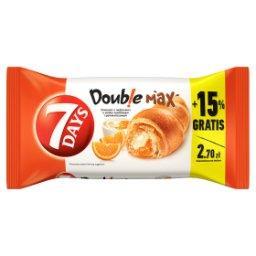 Doub!e Max Croissant z nadzieniem o smaku waniliowym i pomarańczowym
