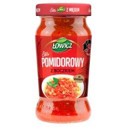 Sos pomidorowy z boczkiem