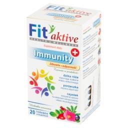 Fit aktive Immunity Suplement diety herbatka ziołowa...