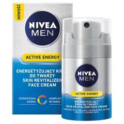 MEN Energetyzujący krem do twarzy Active Energy