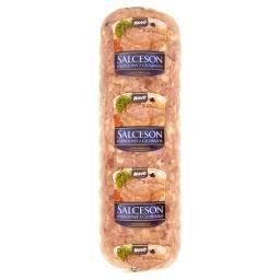 Salceson wieprzowy z czosnkiem