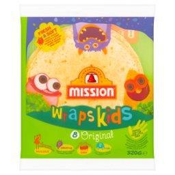 Wraps Kids Original Tortilla z mąki pszennej  (8 sztuk)