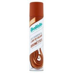 Suchy szampon do włosów dla szatynek