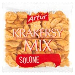 Krakersy mix solone