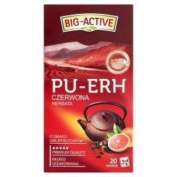 Pu-Erh Herbata czerwona o smaku grejpfrutowym 36 g