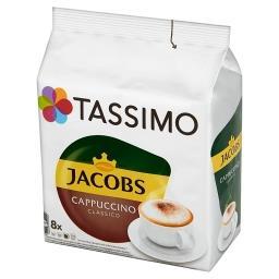 Jacobs Cappuccino Classico Kawa mielona 8 kapsułek i mleko 8 kapsułek