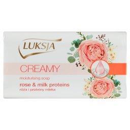 Creamy Róża i proteiny mleka Kremowe mydło