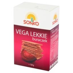 Pieczywo Vega Lekkie z czerwonym buraczkiem