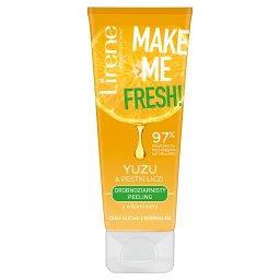 Make Me Fresh! Drobnoziarnisty peeling yuzu & pestki liczi