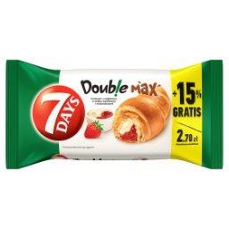 Doub!e Max Croissant z nadzieniem o smaku waniliowym i truskawkowym