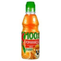 100% Sok pomarańcza jabłko