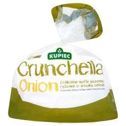 Crunchella Onion Delikatne wafle pszenno-ryżowe o smaku cebulki