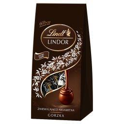 Lindor Pralinki z czekolady gorzkiej z nadzieniem