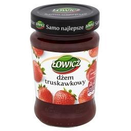 Dżem truskawkowy niskosłodzony