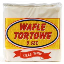 Wafle Tortowe 5 sztuk