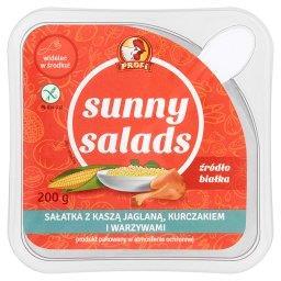 Sunny Salads Sałatka z kaszą jaglaną kurczakiem i warzywami