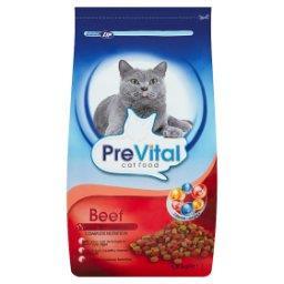 Karma dla kotów z wołowiną i dodatkiem warzyw