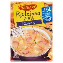 Rodzinna zupa Żurek