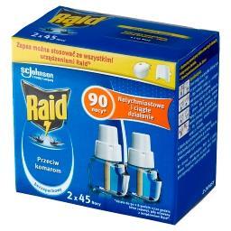 Płyn owadobójczy przeciw komarom zapas bezzapachowy 54 ml (2 x )