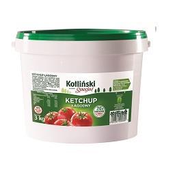 Ketchup łagodny 3kg