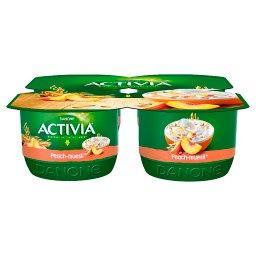 Activia Jogurt brzoskwinia musli 480 g
