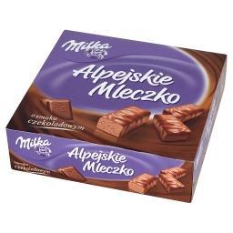 Alpejskie Mleczko Pianka o smaku czekoladowym