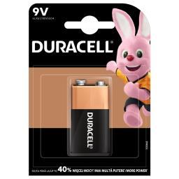 Baterie alkaliczne duracell typ 9V
