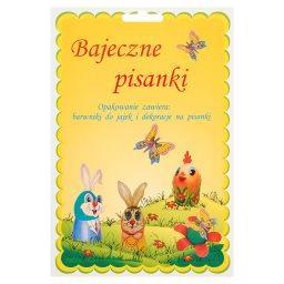 Bajeczne pisanki Barwniki do jajek i dekoracje na pisanki