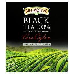 Pure Ceylon Herbata czarna 100% 200 g (100 torebek)