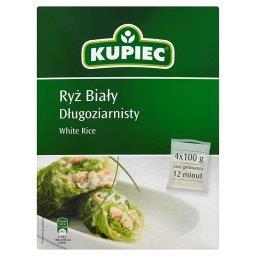 Ryż biały długoziarnisty 400 g (4 torebki)