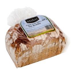 Chleb żytni bez drożdży 100% 500g