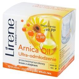 Dermoprogram Arnica Oil Ultra-odmłodzenie Przeciwzmarszczkowy krem z olejkiem