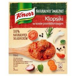 Klopsiki w sosie pomidorowym