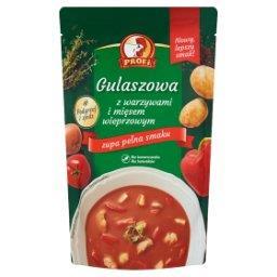 Gulaszowa z warzywami i mięsem wieprzowym
