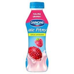 Ale Pitny Malina granat Napój jogurtowy
