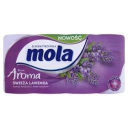 Fresh Aroma Papier toaletowy świeża lawenda 8 rolek