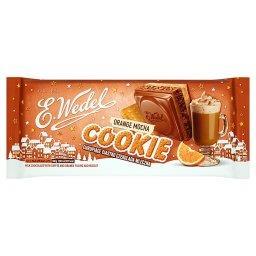 Cookie Czekolada mleczna z nadzieniem kawowo-pomarańczowym i herbatnikiem