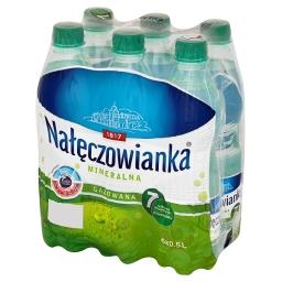 Woda mineralna gazowana 6 x 0,5 l