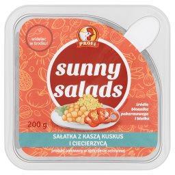 Sunny Salads Sałatka z kaszą kuskus i ciecierzycą