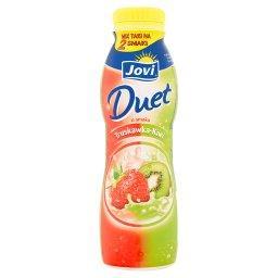 Duet Napój jogurtowy o smaku truskawka-kiwi