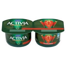 Activia Truskawka Jogurt 240 g (2 sztuki)