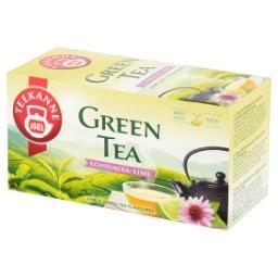 Herbata zielona z herbatką owocową ziołową o smaku l...