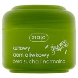 Naturalny krem oliwkowy cera sucha i normalna