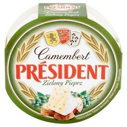 Camembert zielony pieprz Ser pełnotłusty