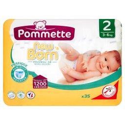New Born Pieluszki dla dzieci rozmiar 2 3-6 kg